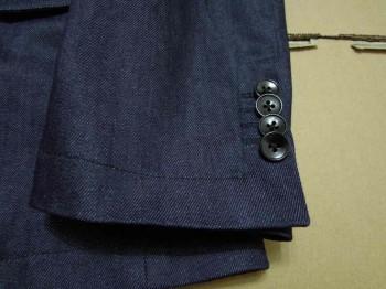 デニムテーラードスーツ