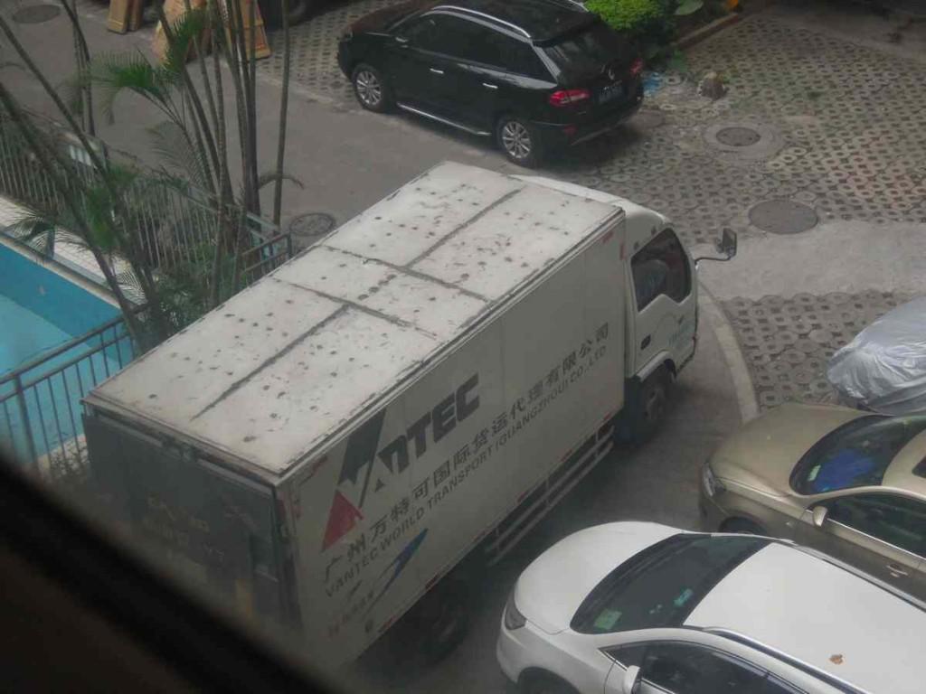 広州のトラック