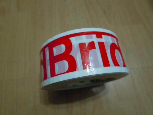 クリアテープ製作 印刷