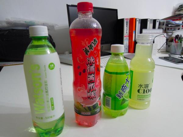 清涼飲料水 広州