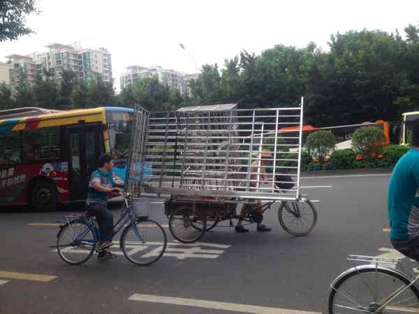 広州 三輪車