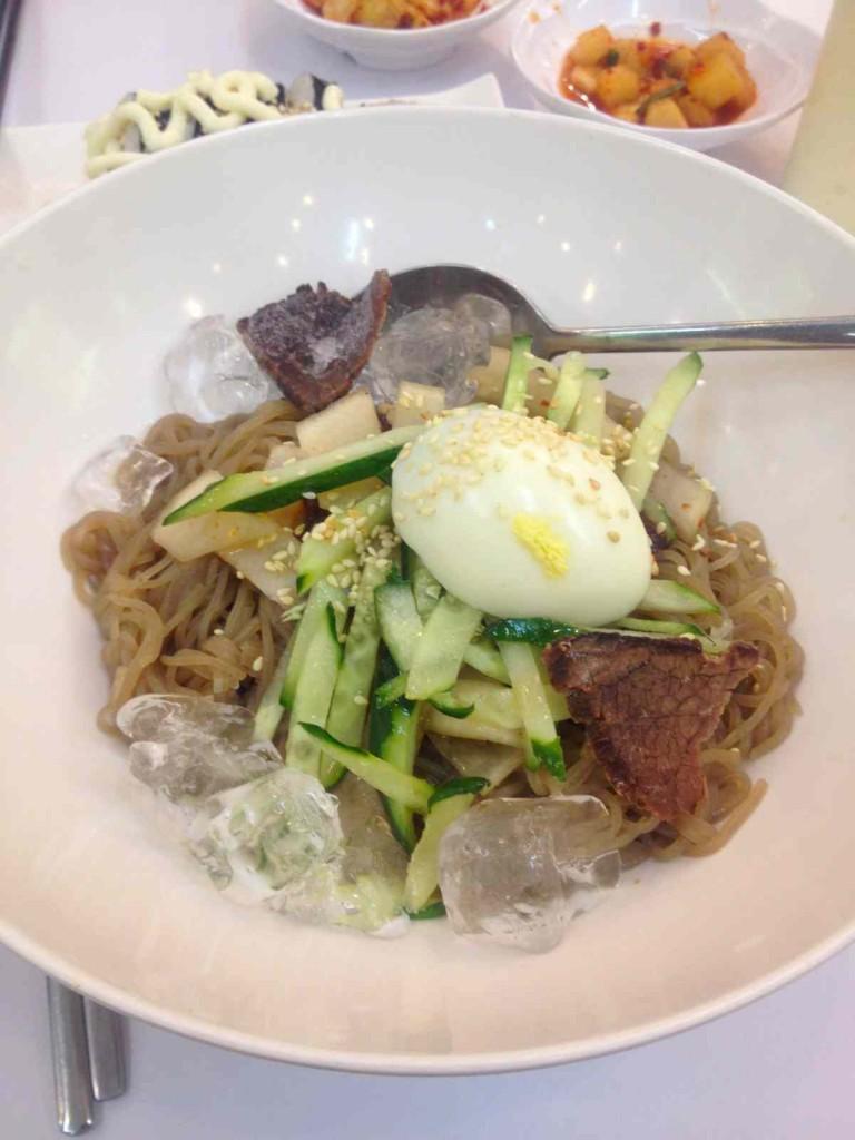 韓国冷麺 中国