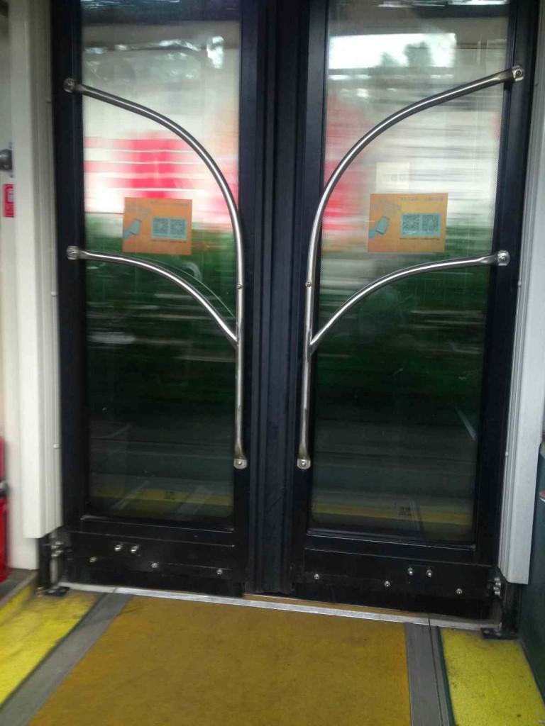 バス降り口 低床広州バス