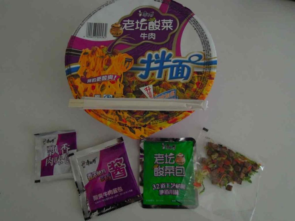 中国カップラーメン